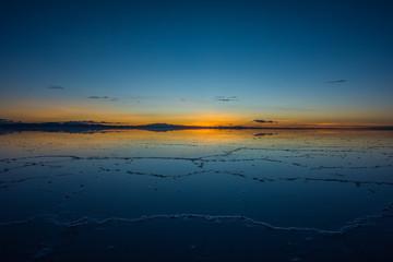 Keuken foto achterwand Blauw Scenic View Of Sea Against Sky During Sunset