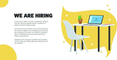 Job Vacancy, We are hiring