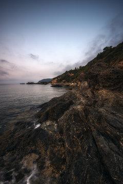 Coastline on Elba
