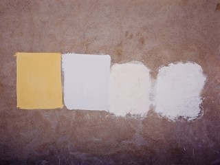 Paint Swatches On Wall