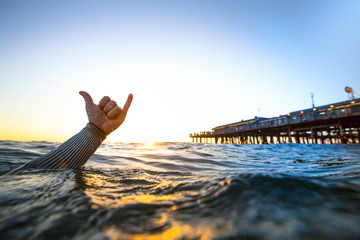 Good Vibes. Redondo Beach Pier - Los Angeles - CA