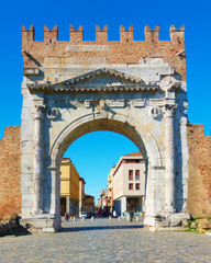 Wall Mural - Arch of Augustus in Rimimi