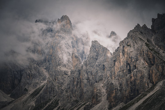 Out of the clouds - Dolomites