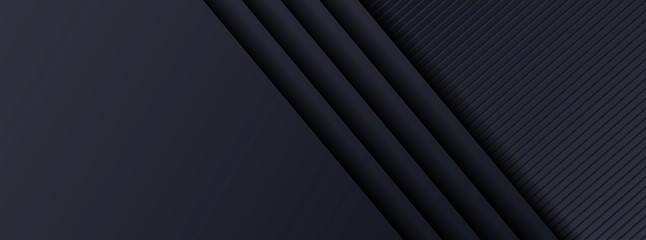 Abstract 3d dark background with surface geometric shape