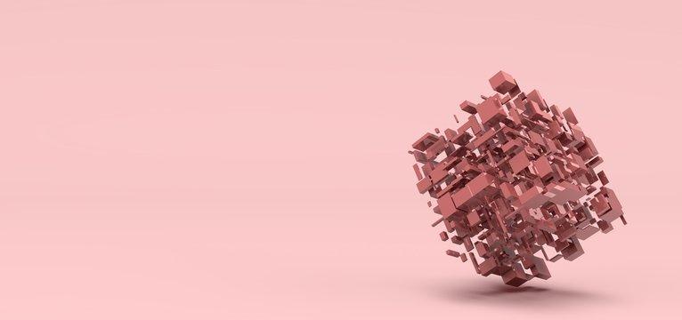 Cube, Pink