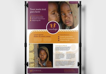 Banner Layout for Charity and Non Profit Services