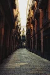 Keuken foto achterwand Smal steegje narrow street in venice