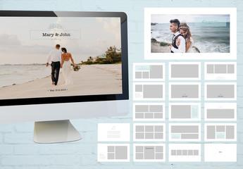 Digital Presentation Wedding Photo Album