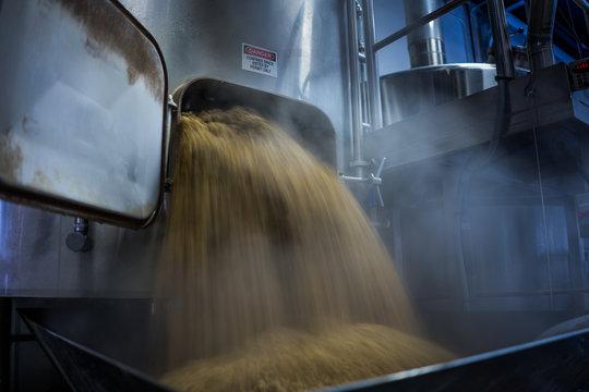 Brewing equipment. Mash Tun, Lauter Tun, Craft Beer.