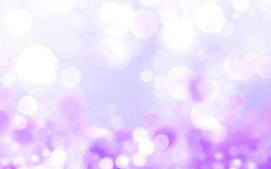 Wall Mural - Purple abstract background blur with bokeh