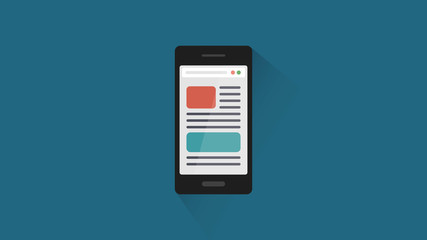 Document pages on smartphone.