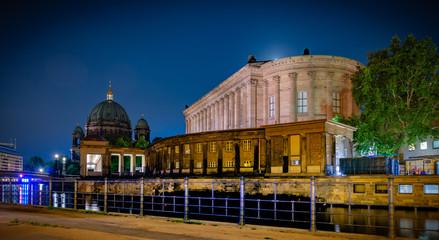Isla de los museos de Berlín, Alemania Fototapete