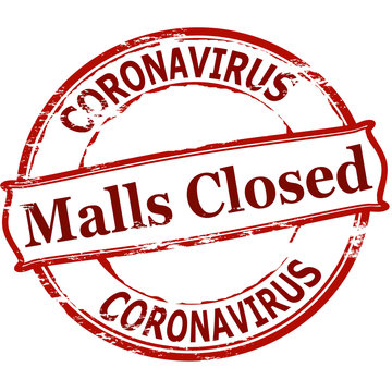 Mall closed Coronavirus