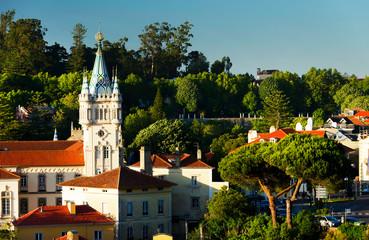 Fototapeten Singapur Architecture of Sintra, Portugal,. Europe