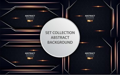 modern abstract luxury gold vector background banner design,can be used in cover design, poster, flyer, book design, social media template background. website backgrounds or advertising. Wall mural