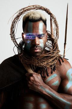 Afrofuturism warrior
