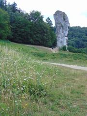 Fototapeta Ojcowski Park Narodowy, Skały, Maczuga Herkulesa, szlaki Turystyczne w Polsce Góry obraz