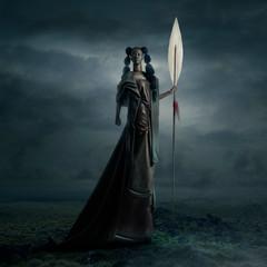 female warrior - Afrofuturism