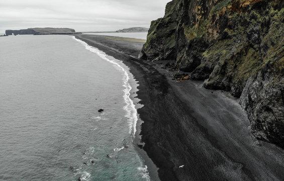 Black Sand Beach, Iceland, 2019.