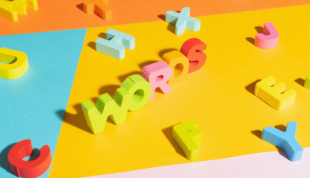Colorful Letters/Numbers