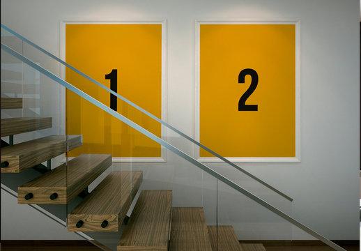 Gallery Frame Mockup