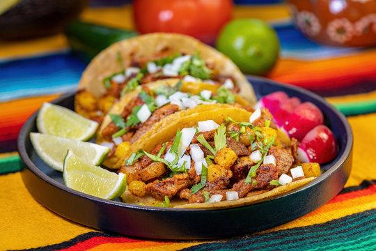 Al Pastor style Tacos