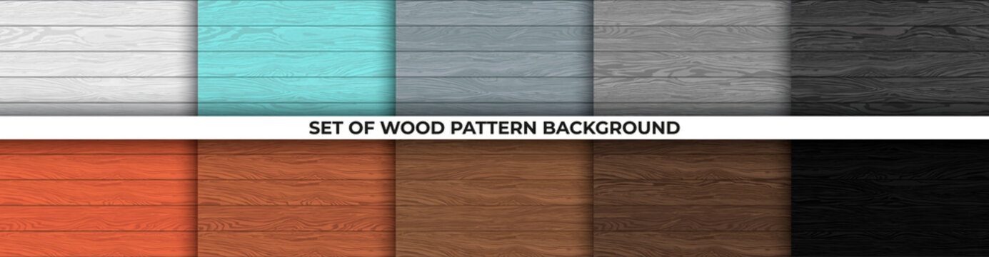 Wood texture, vector Eps10 illustration. Natural Wooden Background.