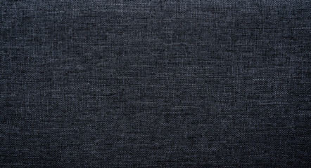 Canvas Polyester texture synthetical for background. Black polyester fabric textile backdrop for interior art design or add text message. Fotomurales
