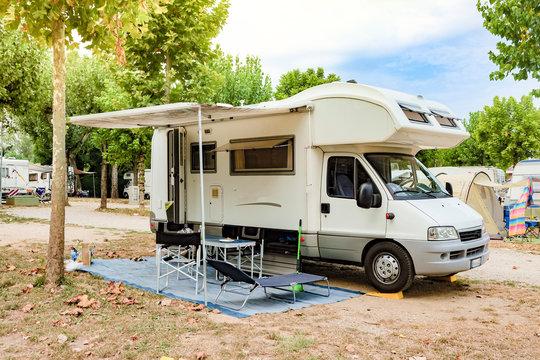 camper in camping