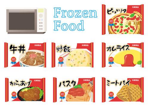 冷凍食品セット