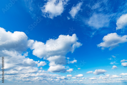 Wall mural 青空
