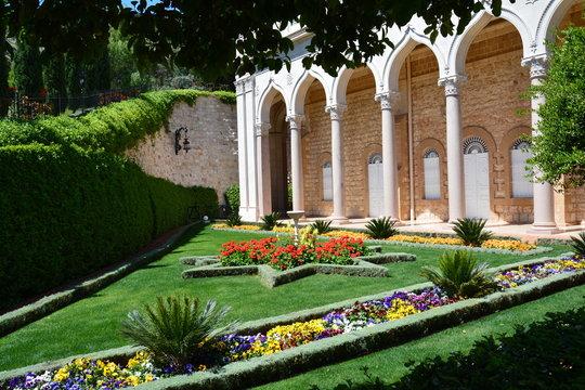 Jardins suspendus de Baha'i Haifa Israël