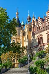 Ostfassade des Schweriner Schlosses, Mecklenburg-Vorpommern
