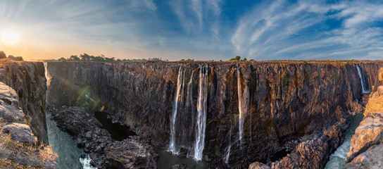 Victoria Falls (Mosi-oa-Tunya), view from Zimbabwe side