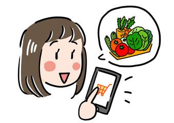 ネットショッピング野菜