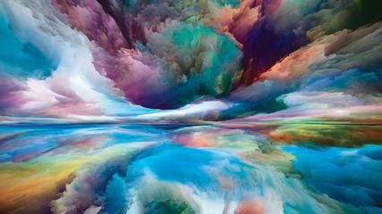 Printed roller blinds Ocean Quickening of Dreamland