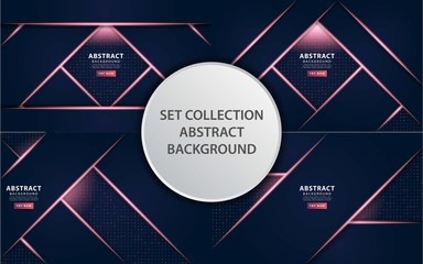 luxury premium dark blue vector background banner design,can be used in cover design, poster, flyer, book design, social media template background. website backgrounds or advertising. Wall mural