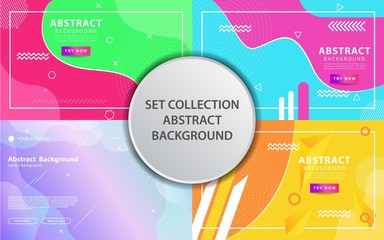 modern abstract liquid vector background banner design,can be used in cover design, poster, flyer, book design, social media template background. website backgrounds or advertising. Wall mural