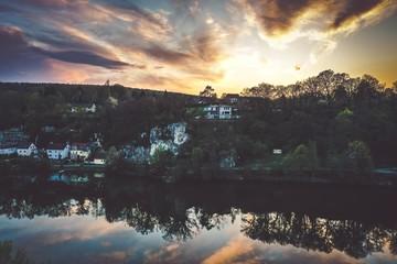 Foto auf Gartenposter Reflexion default