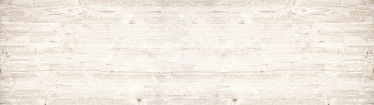 old white painted exfoliate rustic bright light shabby vintage wooden texture - wood background banner panorama