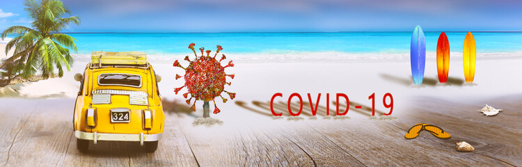 coronavirus , informations vacances, plage, déconfinement  et tourisme