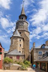Dinan, France. Clock Tower, 1507