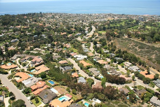 San Diego Real Estate Aerial Shot