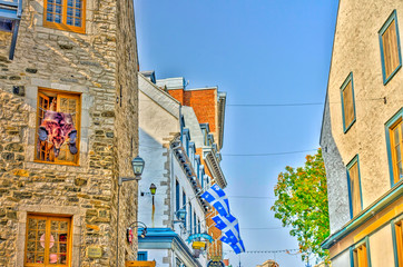 Wall Mural - Quebec City, historical center