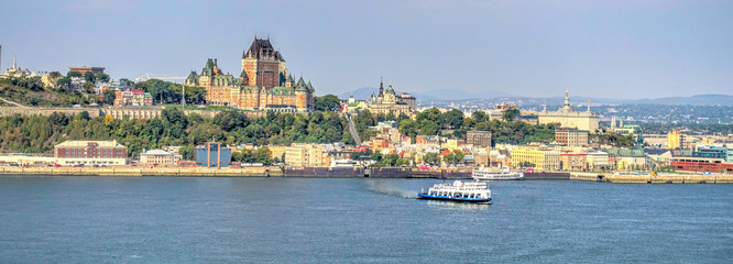 Wall Mural - Quebec City and the St Lawrence River