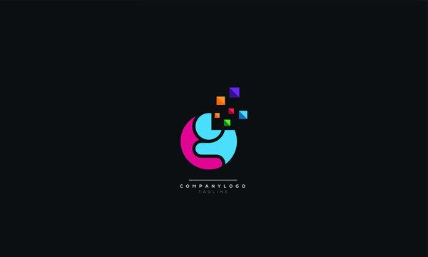 Letter G Logo Design Icon Vector Symbol