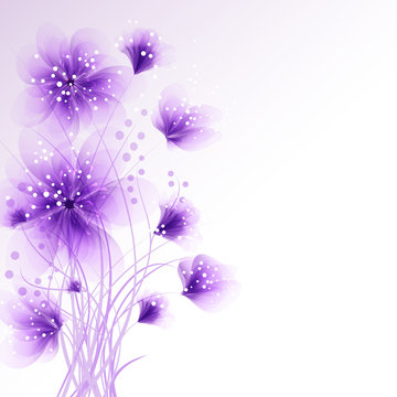 vector background with Flowers 944
