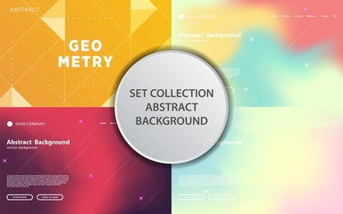 modern abstract geometric vector background banner design,can be used in cover design, poster, flyer, book design, social media template background. website backgrounds or advertising. Wall mural