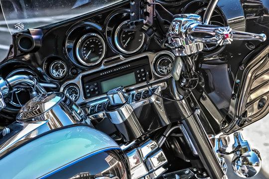 Close-up Harley Davidson
