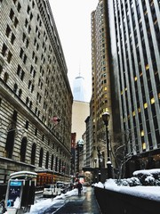 Low Angle View Of Federal Reserve Bank Of New York